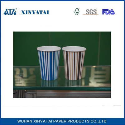 China 20 Unzen Doppel PE Einweg Kaltes Getränk Papierbecher / Personalized Papier Beverage Cups fournisseur