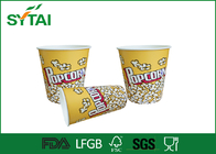 Cute Funny Gedrucktes Papier Popcorn Eimer / Popcorn Tubs / Popcorn Boxes Eco-friendly